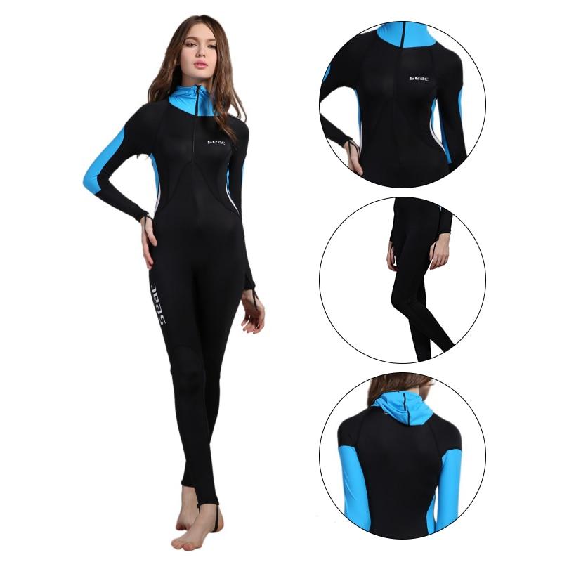 0.5mm Slim One-piece Women' Wetsuits Swimwears Diving Suits Surfingwear Rash Guards Snorkeling Jellyfish Clothing Swimsuit