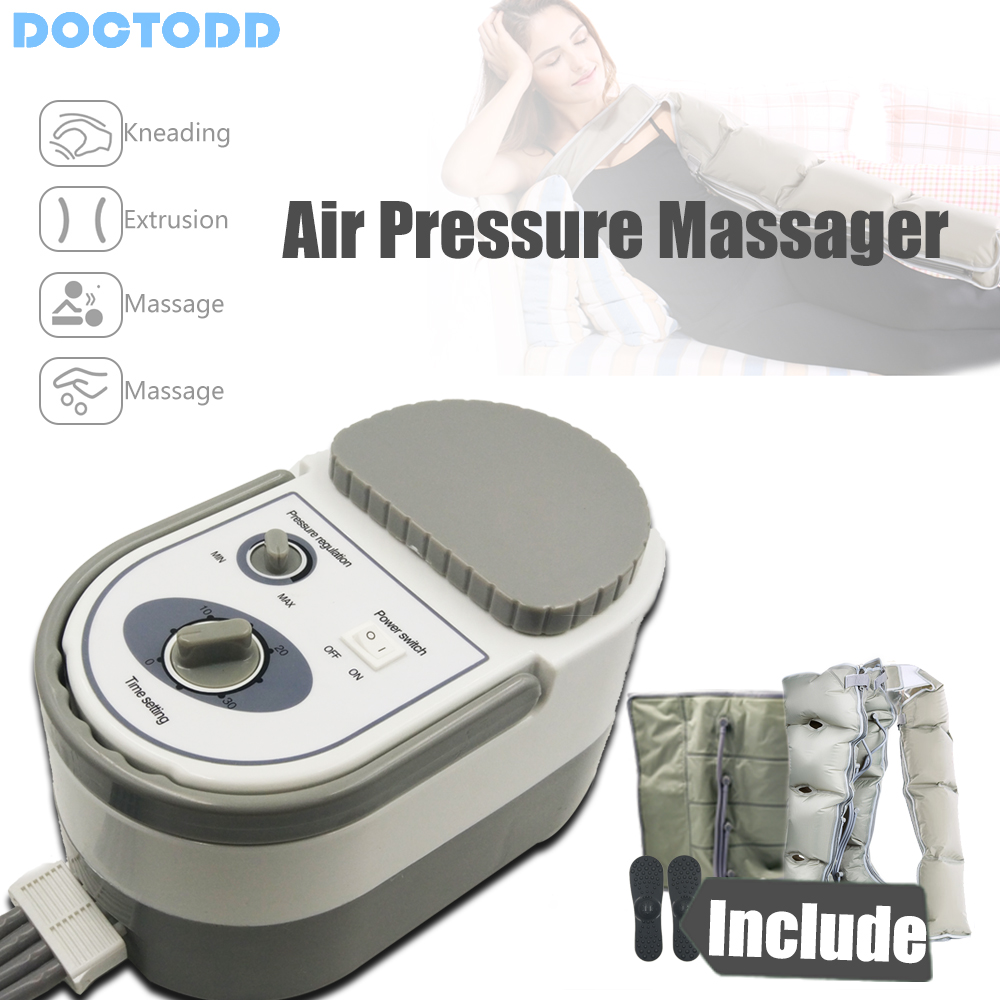 Image 2 - Air Wave Pressure Massager Continuous Compression Circulator Leg Arm Waist Leg Massageing Machine Muscles Relaxed Recovery Devic-in Massage & Relaxation from Beauty & Health