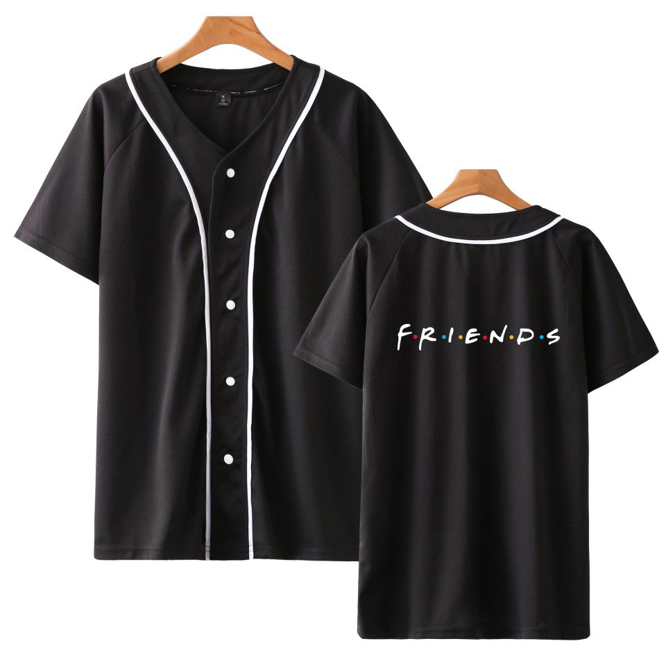 FRIENDS Printed baseball t shirt women/men TV Show I'll Be There for You tshirt t-shirt Fashion funny t shirts Tee Brand clothes image