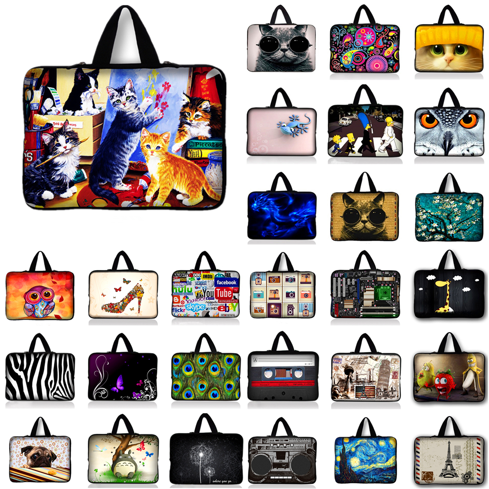 7 10 12 13 15.6 14 17 Laptop Computer Sleeve Notebook Cover Case Soft Bag Pouch 13.3 15.4 15.6 17.3 For Macbook Air / Pro #Q