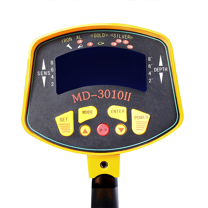 Professional Metal Detector MD3010II Underground Metal Detector Gold High Sensitivity and LCD Display MD-3010II Metal Detector