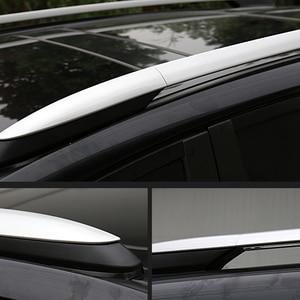 Image 2 - 2013 2014 2015 2016 2017 Cho Xe Toyota RAV4 XA40 Bạc Ngoại Thất Xe Ô Tô Tự Động Mái Giá Đường Sắt Cấp Bao Vỏ Nắp thay Thế 4