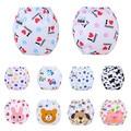5 PÇS/LOTE Fraldas Para Bebés Crianças Cobertura Calças de Treinamento Fralda Lavável Fralda de Pano Fraldas Reutilizáveis Frete Grátis