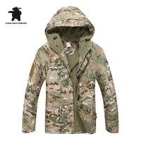 Military Uniform Men S Camouflage Jacket Multicolor G8 Windproof Waterproof Breathable High Quality Fleece Coat Men