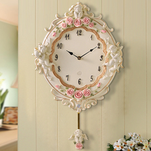 decoration clock watches Decoration Art quartz European    room bedroom modern minimalist fashion quartz  personality wall cl