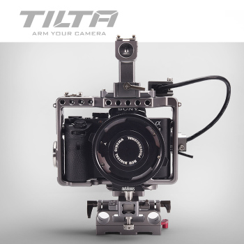 Tilta A7S Rig A7S2 A7R A7R2 Rig Cage Baseplate Top Handle For SONY A7 series camera Film shooting