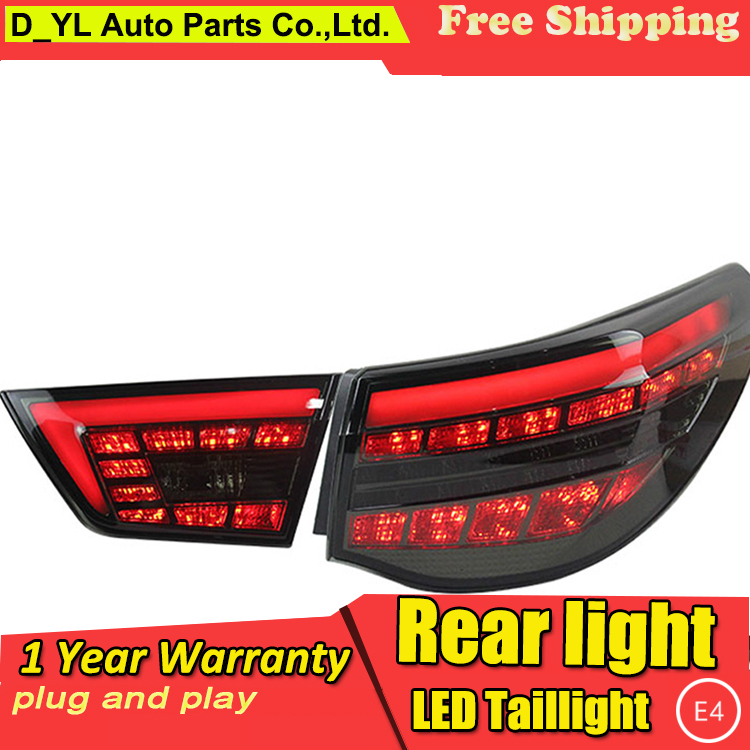Car Styling LED Tail Lamp for Toyota Reiz Mark X LED Taillights 2012 Rear Light DRL+Turn Signal+Brake+Reverse auto Accessories l