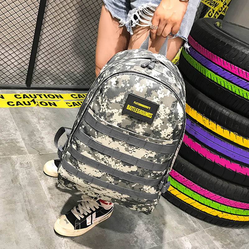 Men PUBG Backpack Multifunction Waterproof Teenage School USB Charging Backpacks Women Travel Level 3 Bag Boys Mochila BP0247 (10)
