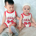 Baby Rompers Summer Baby Boys Clothing Short Sleeve Basketball Clothes Newborn Baby Clothes Roupa Bebes Infant Jumpsuits