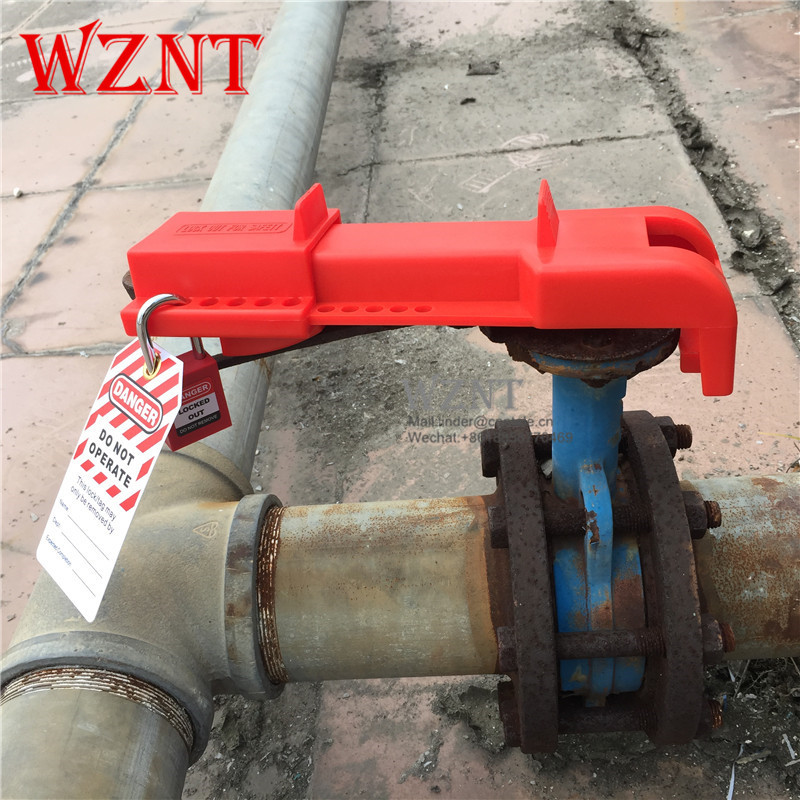 Red Universal Butterfly Valve Lockout ,butterfly valve locking device butterfly valve 4 102mm page 8