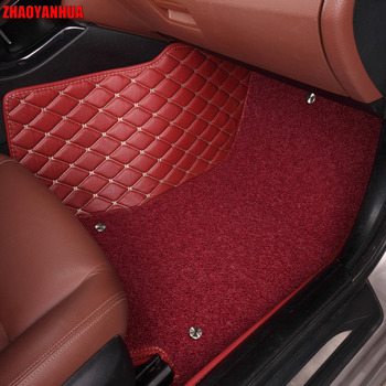 ZHAOYANHUA Car floor mats for Toyota Crown 12th 13th 14th generation 5D heavy duty car-styling rugs carpet floor liners(2005-)