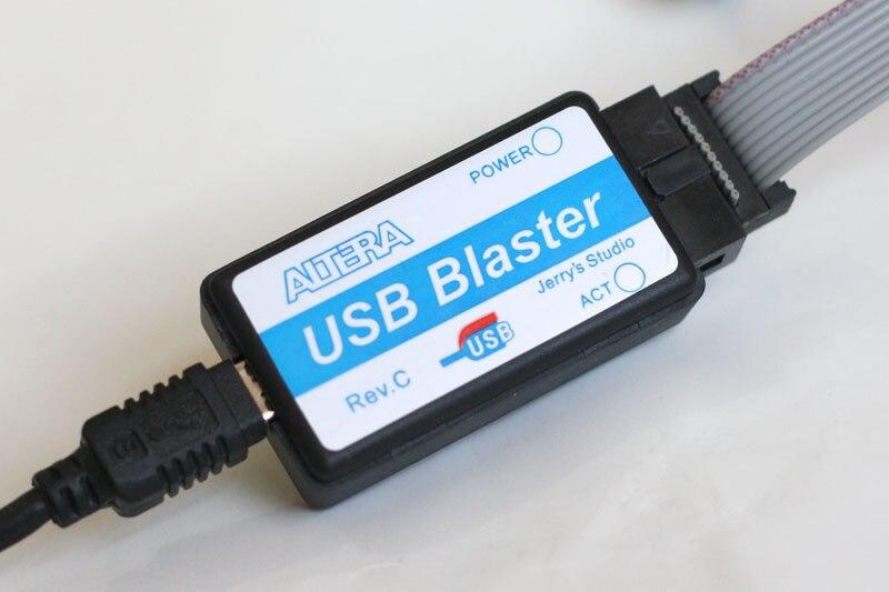 Free Shipping 2pcs/lot New Mini Usb Blaster Cable For CPLD FPGA NIOS JTAG Altera Programmer In Stock