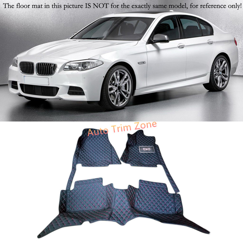 Interior Floor Mats & Carpets Foot Pads For BMW 5 Series F10 2010 2013