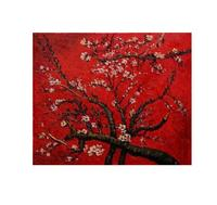 an Almond Tree in Blossom Vincent Van Gogh oil painting Floral canvas wall art pictures for living room no frame