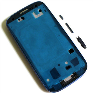 Image 5 - 10sets Full Housing for Samsung Galaxy S3 I9300 i9305 s3 neo 9300i 9308i Front Frame+Middle Frame+Battery Cover door Repair