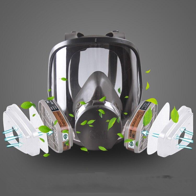 3 original 3m 6800 respirador mascara de 05