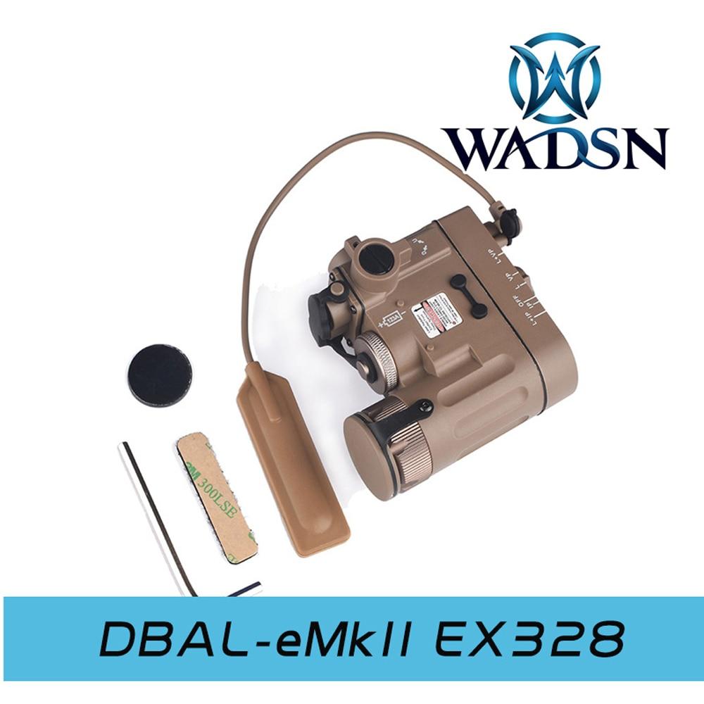 Image 5 - WADSN страйкбол DBAL D2 осветитель многофункциональная подсветка для оружия красная точка ИК лазерный тактический фонарик WEX328 принадлежности для охоты-in Огни для оружия from Спорт и развлечения