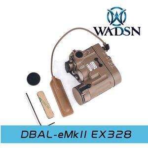 Image 3 - WADSN Tactical Light DBAL IR Red Laser Airsoft Hunting Lamp DBAL EMKII Flashlight DBAL D2 DBAL Weapon Gun Light