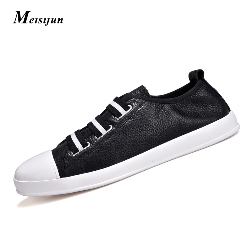Genuine leather men leather shoes soft skin small white shoes comfortable breathable casual shoes flat shoes top brand high quality genuine leather casual men shoes cow suede comfortable loafers soft breathable shoes men flats warm