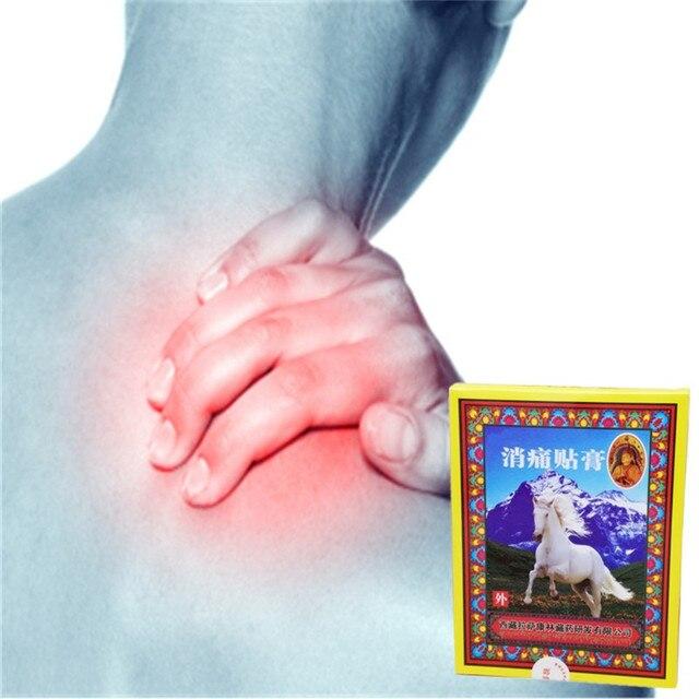 DISAAR 8 Pcs Osso de Cavalo Bálsamo Alívio Da Dor Gesso Medicina Chinesa Ervas Artrite Dor Nas Articulações Far IR Aquecimento do óleo Essencial remendo