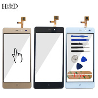 HelloWZXD Touch Screen Glass Front High Glass Digitizer Panel For LEAGOO Z5 Lens Sensor Flex Cable