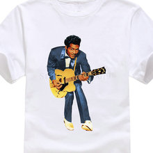 Shirt Making Company Crew Neck Short Sleeve Gift Mens Chuck Berry Singer Shirts T Shirt Men Casual Cotton Short Sleeve цена