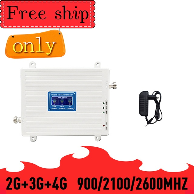 TFX BOOSTER 2G 3G 4G 900 2100 2600 GSM WCDMA LTE 2600 טלפון סלולרי מגבר אות 2G 3G 4G LTE 2600 מהדר מאיץ טלפון נייד