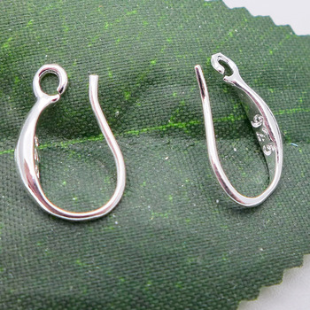 Free Shipping nickel lead & cadmium free 1000pcs 925 Silver French Earring Hook  15mm in Wholesale price S003