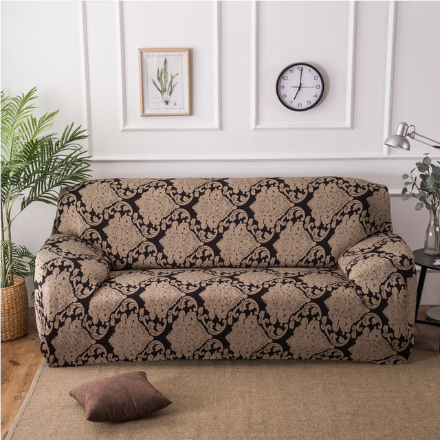 Elegant Printing Furniture Protector Sofa Stretch Big Elasticity