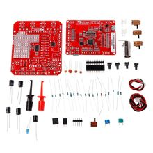NEW DSO138mini Digital Oscilloscope Kit DIY Learning Pocket-size DSO138 Upgrade dso138 soldered pocket size digital oscilloscope kit diy parts electronic