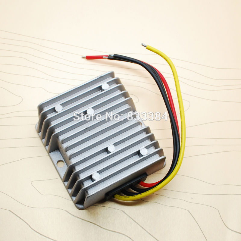 Image 2 - top quality!! 100W DC DC CONVERTER 12V/24V to 5V 20A for LED DISPLAY CAR APPLICATION-in Inverters & Converters from Home Improvement on AliExpress