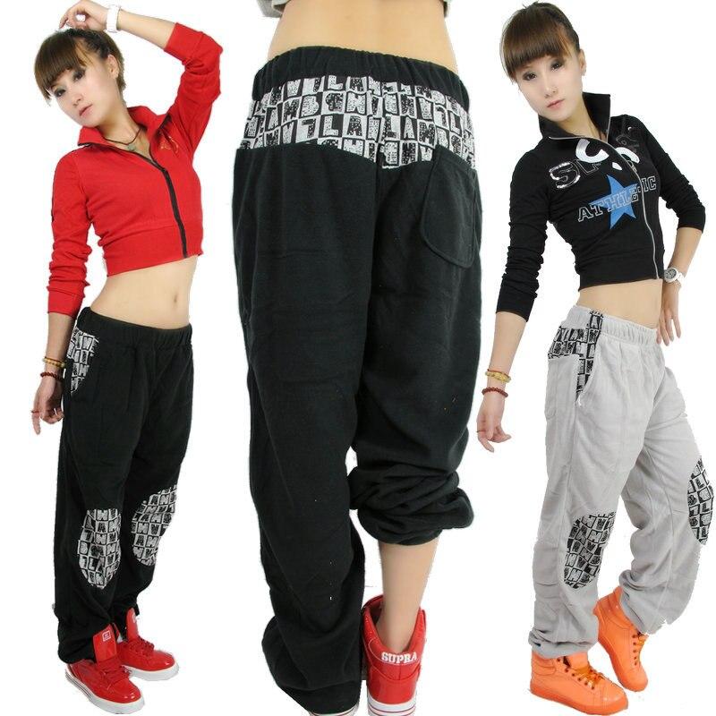 Loose Trousers Pants Korean Sports Leisure Jazz Hiphop Female Hip K1TlJcF