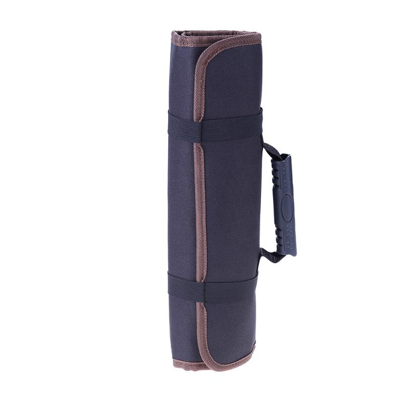 Multifunctional Oxford Canvas Chisel Roll Rolling Repairing Tool Utility Bag Practical with Carrying Handles Two color stitching