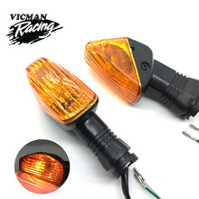 Indicator Light Turn Signal  For KAWASAKI Z750S ZX-6R ZX-6RR KLE 500/650 VERSYS KLR650 Motorcycle Front/Rear Blinker Lamp