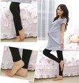 2016 inverno Nova moda das Mulheres Casual Engrosse Calças Leggings Quente Leggings maternidade para as mulheres grávidas calças de Alta Qualidade