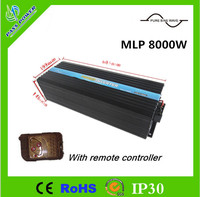CE ROHS Approved DC48V Home Office Caravan 8000W Power Inverter With Remote Controller