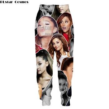 Casual Harem Pants Men women Jogger Drawstring Trousers USA Favorite Singer Ariana Grande 3D Print Pantalon Fitness Sweatpants