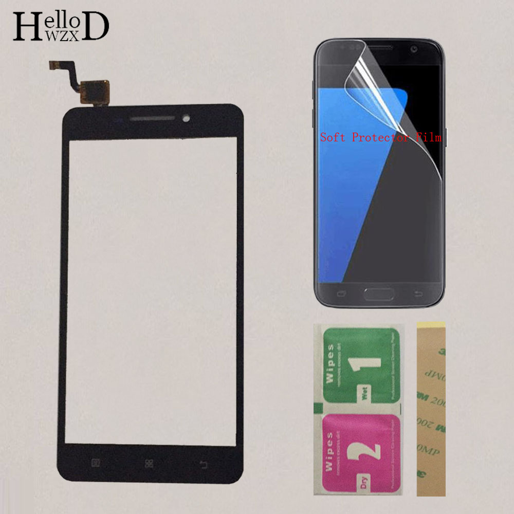 5'' Smart Mobile Touch Panel For Lenovo A5000 A5000 Touch Screen Digitizer Panel Front Glass Sensor Touchscreen Protector Film