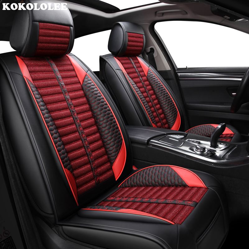 KOKOLOLEE Car seat covers for Citroen DS All Models DS3 DS4 DS4S DS5 DS6 car accessories auto car styling kalaisike linen universal car seat covers for ds all models ds ds3 ds4 ds6 ds5 ds4s car accessories auto styling auto cushion