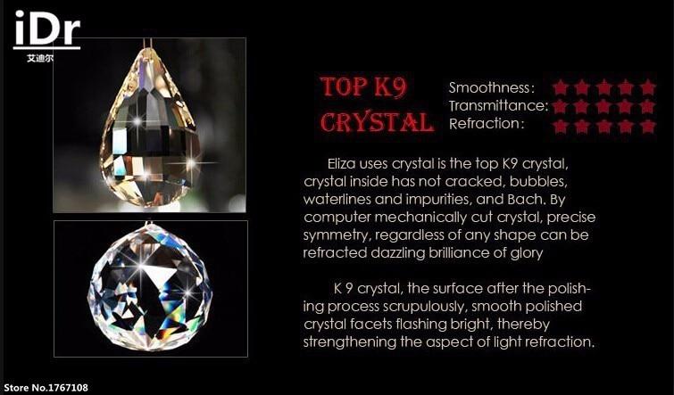 Image 3 - Sala de estar moderna 11 bola lustre cristal penthouse piso  escada hall lâmpada led luzes penduradas fio lumináriaball crystal  chandeliercrystal chandeliercrystal lamp