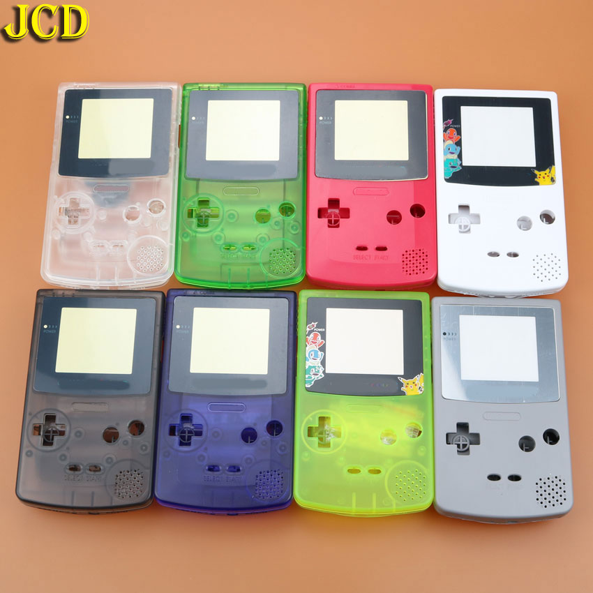 Image 5 - JCD 1pcs Housing Shell Cover for Nintend GameBoy Color for GBC Housing Case Pack-in Cases from Consumer Electronics