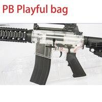 PB игривый сумка новый будет M4 Электрический водяной пистолет пуля джедай выживания игрушка M416 воды яйцо захватить взрослых игрушечный пист