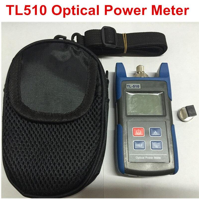 bilder für 70 bis + 10dBm TL510 Tragbare Optische Leistungsmesser Mit SC und Fc-anschluss Fasertester