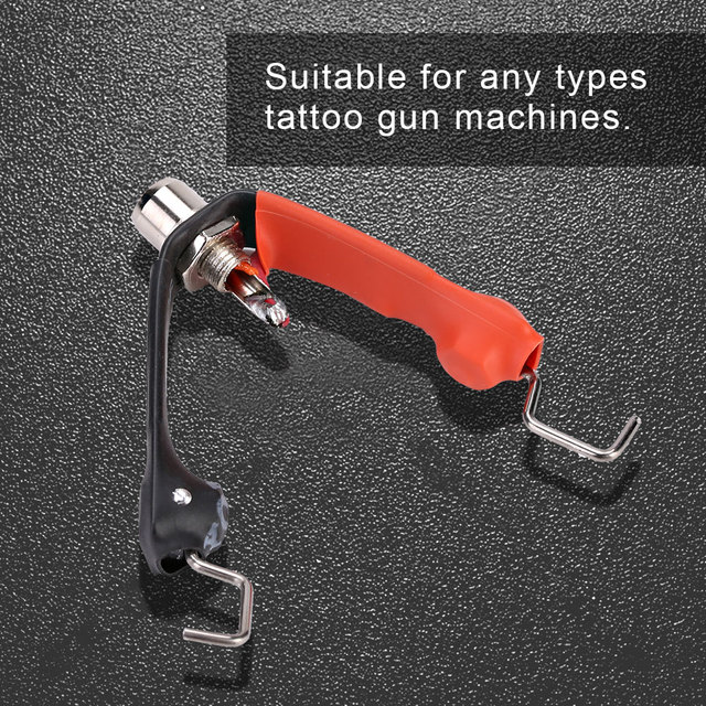 durable High-quality alloy material Converter for RCA Clip Cord Removable RCA to Clip Cord Supply Tattoo Gun Machines