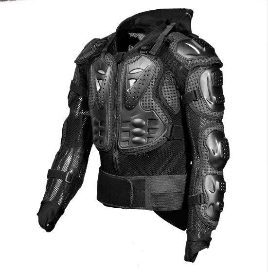 Armure de protection de coude et de poitrine et le cou pour moto scooter 3