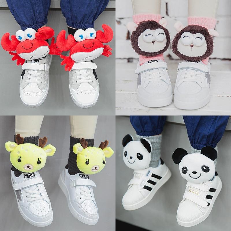 New winter children socks han edition socks of the creative cute cartoon figures fuzzy heap heap socks