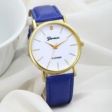 Women's watches Clock Relogio feminino Saat 2017 Women's Fashion Design Dial Leather Band Analog Wrist Watches for women XL20