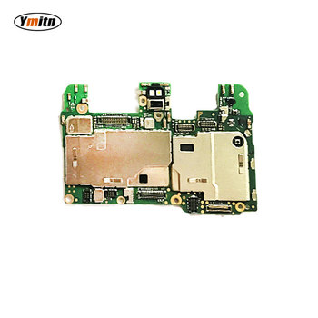 Ymitn Electronic panel mainboard Motherboard unlocked with chips Circuits flex Cable For Huawei Honor V8 KNT-AL20 KNT-AL10 4GB