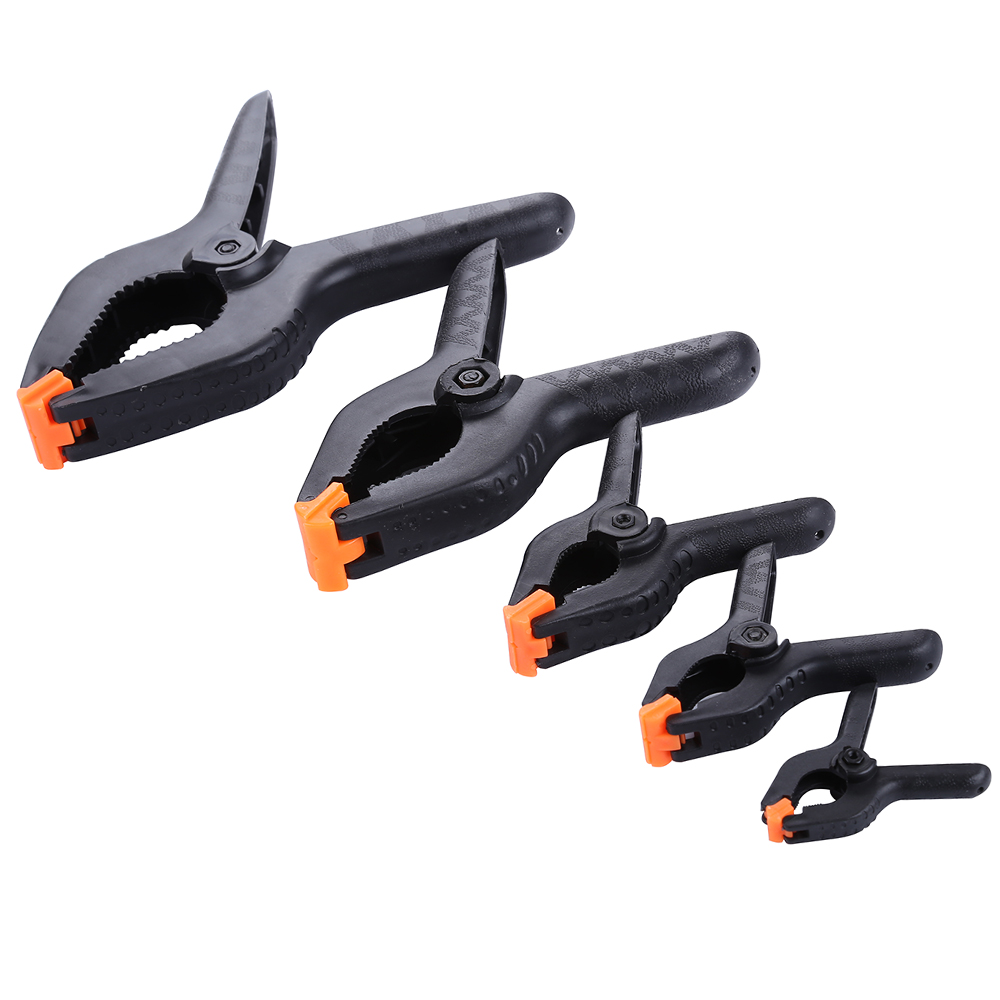 2/3/4/6/9inch Woodworking Tools Plastic Spring Clip Clamps For Woodworking Carpentry Clamps Herramientas Ferramentas