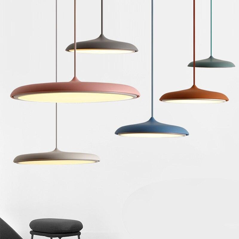 Danesa Lámpara Creativa Moderna Barra Escandinavo Diseño Simple De Restaurante Arte Colgante dCoexBr